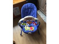 Fisher Price Kick & Play Baby Bouncer