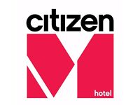 citizenM is looking for a hotel engineer