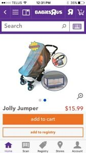 Jolly Jumper UV bug net for stroller and playpen