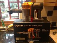 Dyson DC 34 with attachments