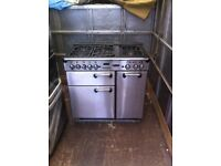Range master reconditioned gas 90cm warranty included SALE ON STAINLESS STEEL range master cooker **