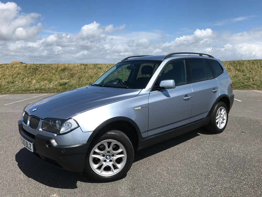Low mileage stunning 2005 bmw x3 2 0 diesel with full service history and air conditioning