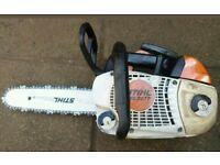 Stihl ms201t tc top handle chainsaw