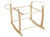Wooden Rocking Stand for Moses Basket/Sleepy Head