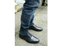 New mens leather dress shoe sz10
