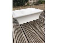 Sink free standing for vanity unit used excellent condition