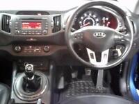 2013 KIA SPORTAGE 1.7 CRDi ISG 2 5dr SUV 5 Seats