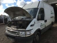 Iveco daily 2.3 unijet 16 v automatic gearbox 2905 mwb high top parts available