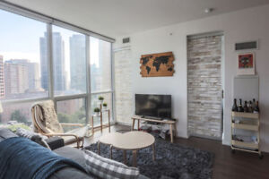 Hot!! Yorkville 1+1 with parking. Great price!
