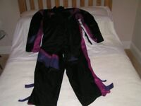 Motor-cyclists Frank Thomas Aqua Weatherproof suit. Size S