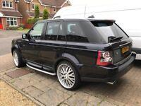 "Range Rover Sport 2.7 TDV6 22"" alloys may p/x swap BMW 5 series 07 onwards"