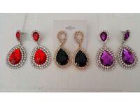 3 x Peardrop Earrings