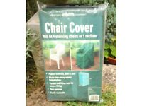 Keep your recliner chair or plastic chairs clean when not in use - use a cover