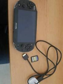 Ps vita game and charger