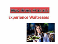 Experience Waitresses and Kitchen Help