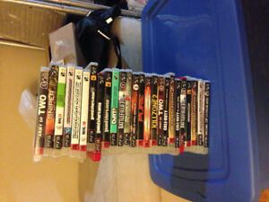 PS3 game lot for sale.