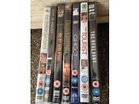 New DVDs various titles 75p each