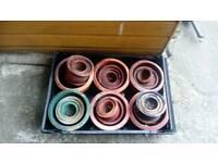 Terracotta pots sets