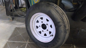 5.3x12 spare rim and tire . Brand new