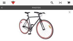 Hybrid / Fixie adjustable bike from Canadian Tire