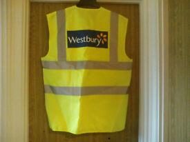 "Hi Viz Waistcoat's ""Brand New"" Size Medium (Job Lot)"