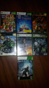 HALO games for  Xbox/ Xbox 360
