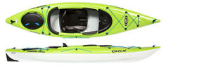 Elie Sound 100xe touring Kayaks  in green , blue or halo
