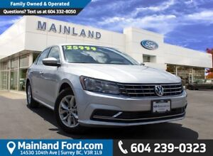 2016 Volkswagen Passat 1.8 TSI Trendline LOCAL, NO ACCIDENTS,...