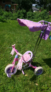 Disney Princess push trike