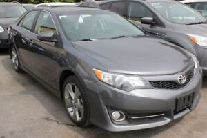 2014 Toyota Camry SE Sunroof Leather Nav
