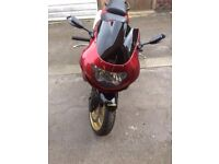 99 zx6r in very good condition /cherry red paint work