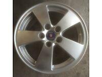 Saab alloy