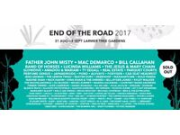 End of the Road Festival 2017 (Sold Out) - Adult Weekend Ticket!
