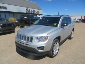 2011 Jeep Compass LIMITED 4X4 LEATHER!! NAV!! SUNROOF!!