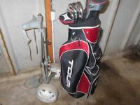 Full set of golf clubs inc. trolley, bag, etc. All in excellent condition.