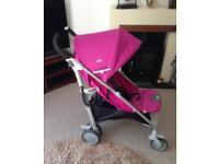 Joie Pushchair/Stroller - in Pink