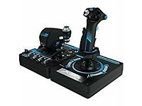 satek hotas x56 rhino pro flight stick and throtle system