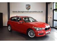 2013 13 BMW 1 SERIES 1.6 116D EFFICIENTDYNAMICS 5DR 114 BHP DIESEL