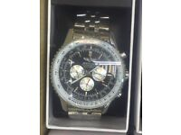 Mens Breitling watches new heavy automatic and good quality