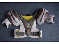 Warrior ice hockey chest pad - youth large