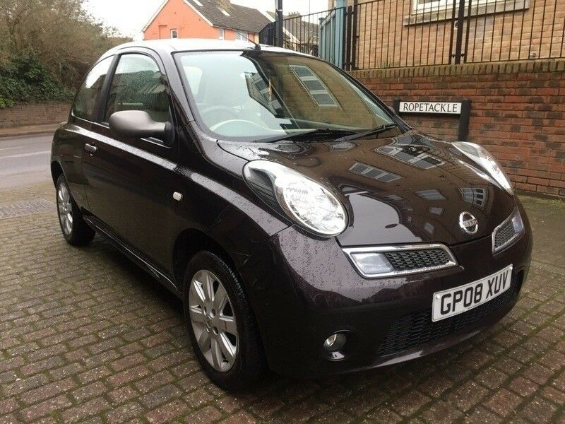 nissan micra 1 2 s perfect first car black 2008 in shoreham by sea west sussex gumtree. Black Bedroom Furniture Sets. Home Design Ideas