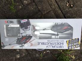 Virtually indestructible rc helicopter remote controlled brand new