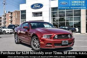 2014 Ford Mustang GT COUPE PREMIUM - RECARO LEATHER - BLUETOOTH