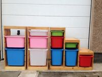 Ikea Trofast storage- ideal for children's toys