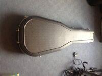 Fullsize dreadnought acoustic hardcase