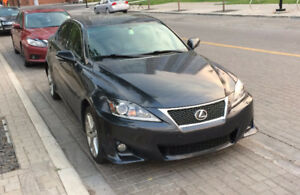 2011 Lexus IS 350 Sedan AWD with F-sport Accessories