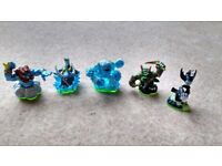 5 Skylanders that can be used on ANY console with ANY Skylander games. All in Very good condition!