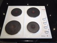 Integrated oven and Electric Hob