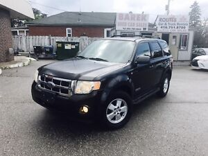 2008 Ford Escape XLT V6 4WD | CERTIFIED • 1 YEAR WARRANTY INCLUD
