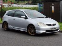 2003 Honda Civic 2.0 i-VTEC Type R Hatchback 3dr